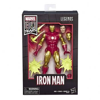 MArvel Legends Series 80th Anniversary Iron Man Action Figure